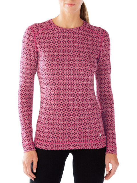 Smartwool W's NTS Mid 250 Pattern Crew Potion Pink